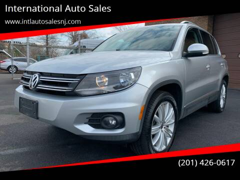 2012 Volkswagen Tiguan for sale at International Auto Sales in Hasbrouck Heights NJ