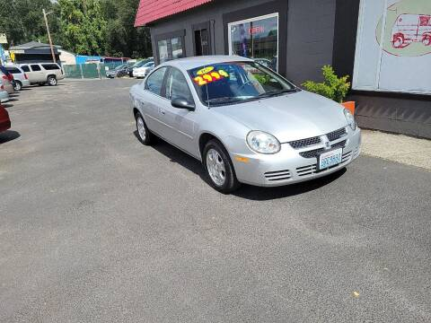 2005 Dodge Neon for sale at Bonney Lake Used Cars in Puyallup WA