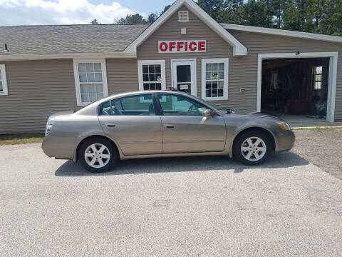 2003 Nissan Altima for sale at MIKE B CARS LTD in Hammonton NJ