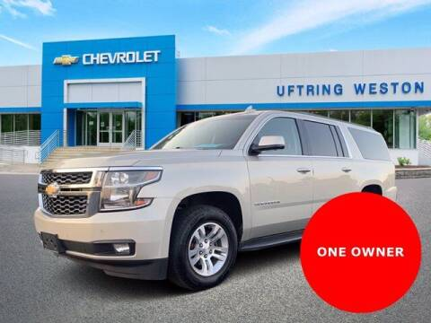 2015 Chevrolet Suburban for sale at Uftring Weston Pre-Owned Center in Peoria IL