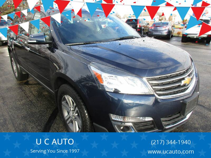 2016 Chevrolet Traverse for sale at U C AUTO in Urbana IL