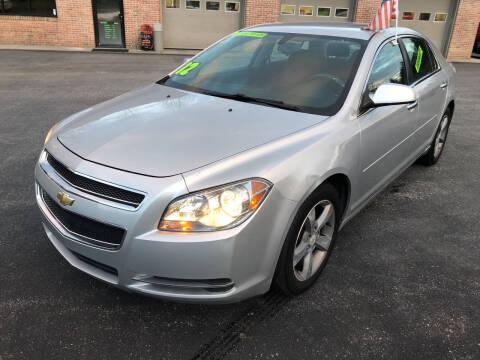 2012 Chevrolet Malibu for sale at McNamara Auto Sales - Hanover Lot in Hanover PA