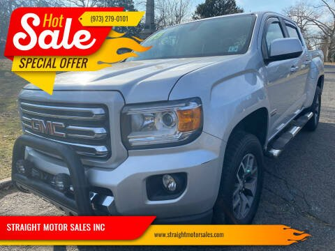 2015 GMC Canyon for sale at STRAIGHT MOTOR SALES INC in Paterson NJ