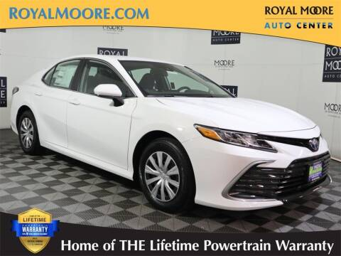 2022 Toyota Camry Hybrid for sale at Royal Moore Custom Finance in Hillsboro OR
