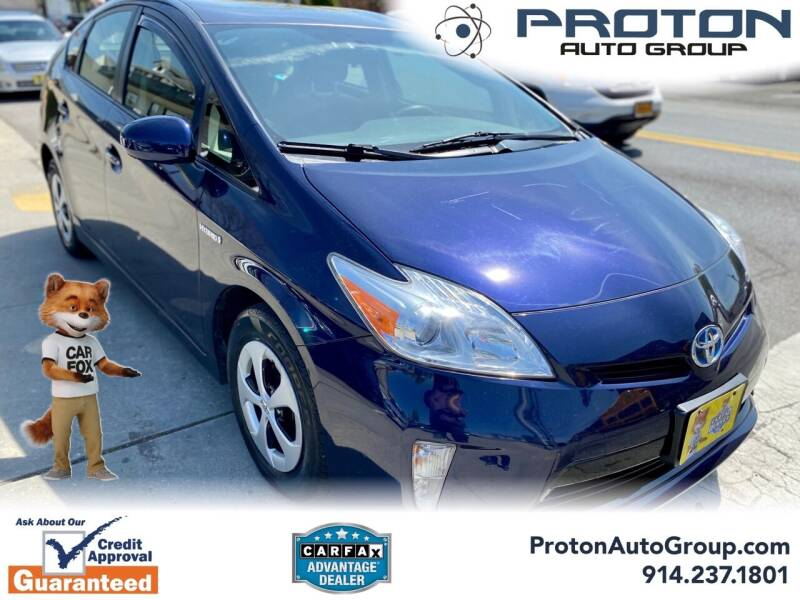 2013 Toyota Prius for sale at Proton Auto Group in Yonkers NY
