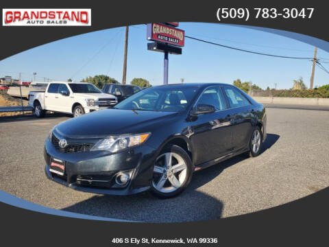 2012 Toyota Camry for sale at Grandstand Auto Sales in Kennewick WA