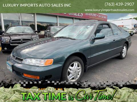 1997 Honda Accord for sale at LUXURY IMPORTS AUTO SALES INC in North Branch MN