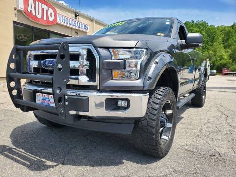 2017 Ford F-150 for sale at Auto Wholesalers Of Hooksett in Hooksett NH