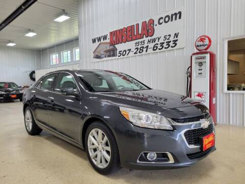 2014 Chevrolet Malibu for sale at Kinsellas Auto Sales in Rochester MN