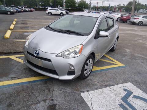2014 Toyota Prius c for sale at ORANGE PARK AUTO in Jacksonville FL