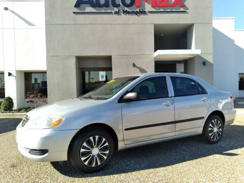 2007 Toyota Corolla for sale at AutoMax of Memphis - Darrell James in Memphis TN