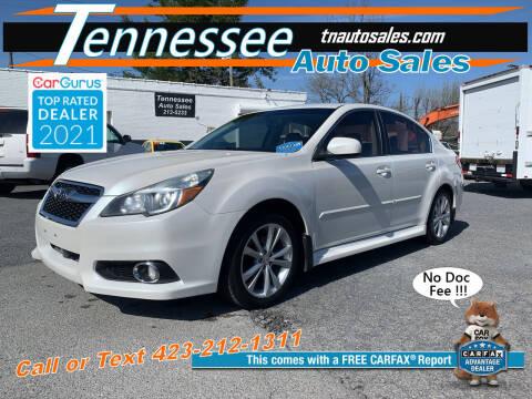 2014 Subaru Legacy for sale at Tennessee Auto Sales in Elizabethton TN