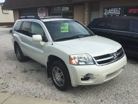 2007 Mitsubishi Endeavor for sale at G LONG'S AUTO EXCHANGE in Brazil IN