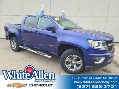 2016 Chevrolet Colorado for sale at WHITE-ALLEN CHEVROLET in Dayton OH