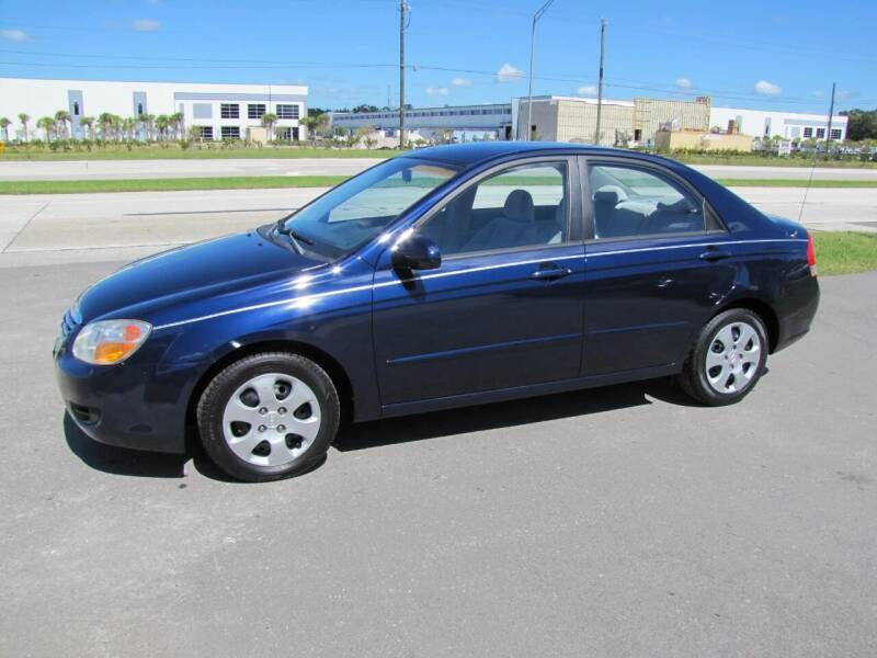 2007 Kia Spectra for sale at HUGH WILLIAMS AUTO SALES in Lakeland FL