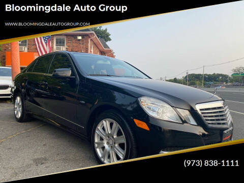 2012 Mercedes-Benz E-Class for sale at Bloomingdale Auto Group - The Car House in Butler NJ