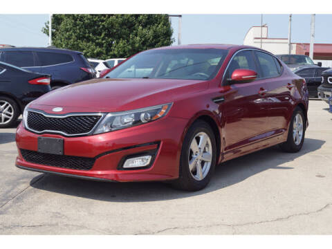 2014 Kia Optima for sale at Monthly Auto Sales in Fort Worth TX