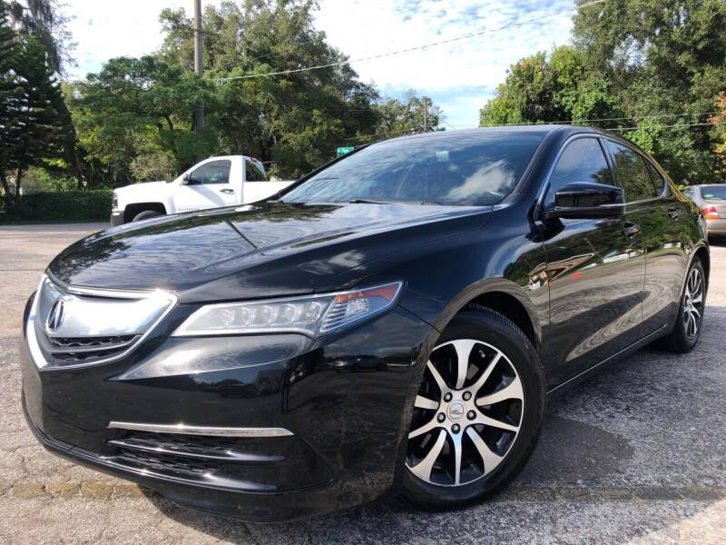 2015 Acura TLX for sale at LUXURY AUTO MALL in Tampa FL
