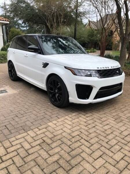 2020 Land Rover Range Rover Sport for sale at MyAutoConnectionUSA.com in Houston TX