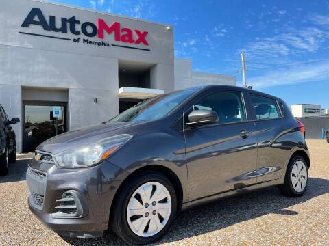 2016 Chevrolet Spark for sale at AutoMax of Memphis - V Brothers in Memphis TN