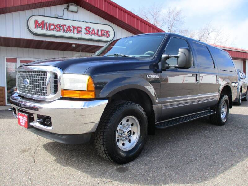 2001 Ford Excursion for sale at Midstate Sales in Foley MN
