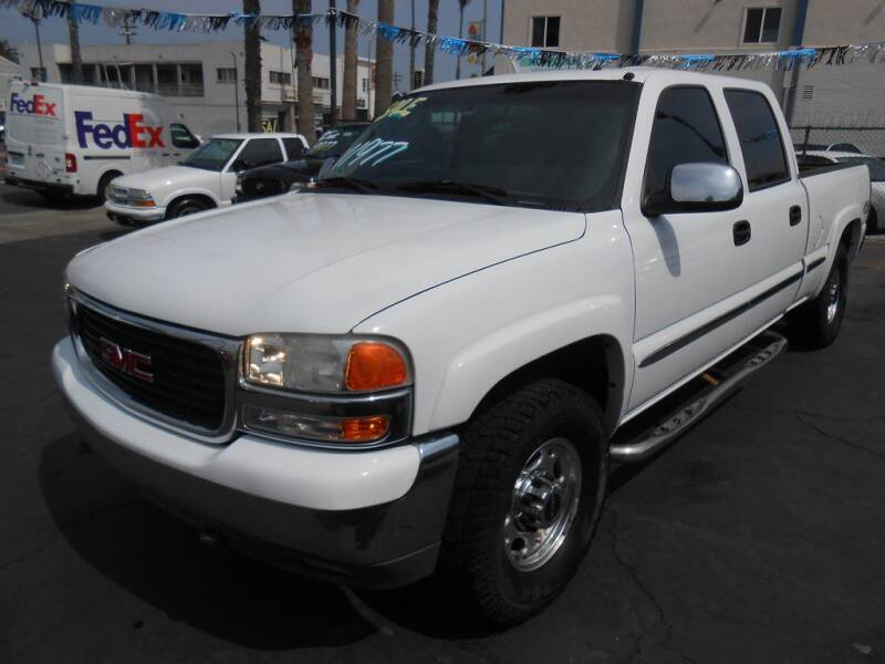 2002 GMC Sierra 1500HD for sale at ANYTIME 2BUY AUTO LLC in Oceanside CA