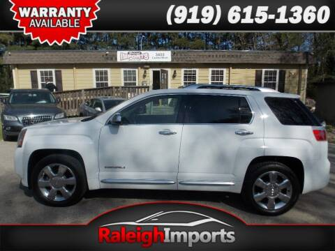 2013 GMC Terrain for sale at Raleigh Imports in Raleigh NC