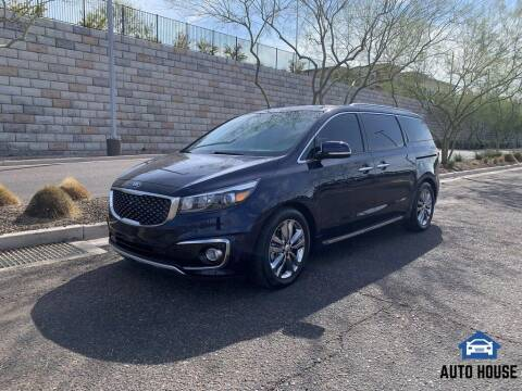 2018 Kia Sedona for sale at AUTO HOUSE TEMPE in Tempe AZ