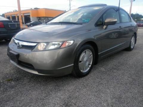 2006 Honda Civic for sale at JacksonvilleMotorMall.com in Jacksonville FL