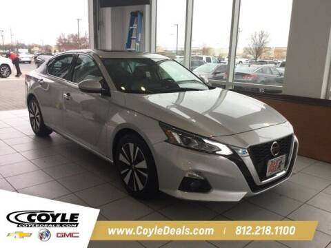 2019 Nissan Altima for sale at COYLE GM - COYLE NISSAN in Clarksville IN