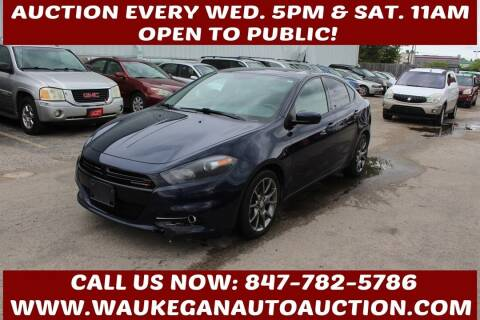 2013 Dodge Dart for sale at Waukegan Auto Auction in Waukegan IL