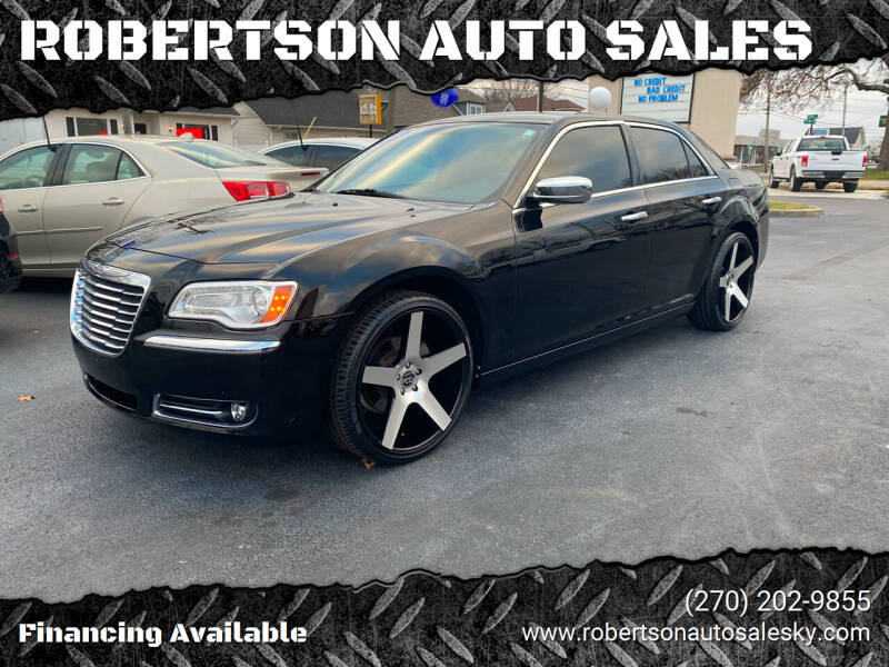 2011 Chrysler 300 for sale at ROBERTSON AUTO SALES in Bowling Green KY