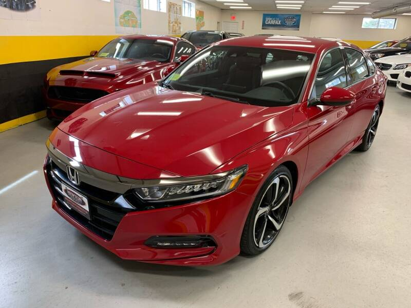 2018 Honda Accord for sale at Newton Automotive and Sales in Newton MA