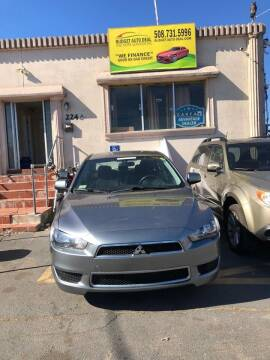 2012 Mitsubishi Lancer for sale at Budget Auto Deal and More Services Inc in Worcester MA