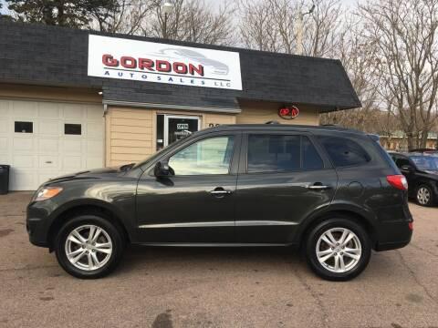 2011 Hyundai Santa Fe for sale at Gordon Auto Sales LLC in Sioux City IA