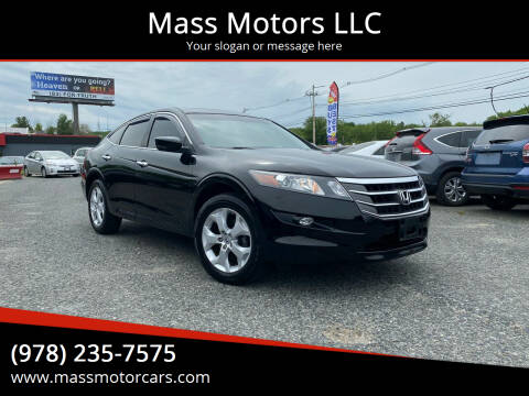 2012 Honda Crosstour for sale at Mass Motors LLC in Worcester MA