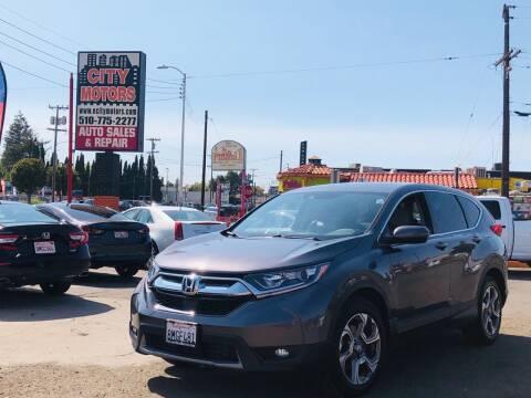2019 Honda CR-V for sale at City Motors in Hayward CA