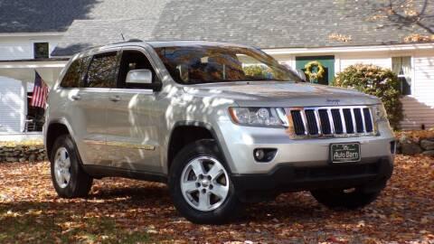 2012 Jeep Grand Cherokee for sale at The Auto Barn in Berwick ME