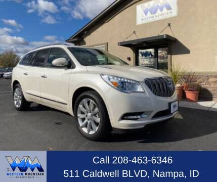 2015 Buick Enclave for sale at Western Mountain Bus & Auto Sales in Nampa ID