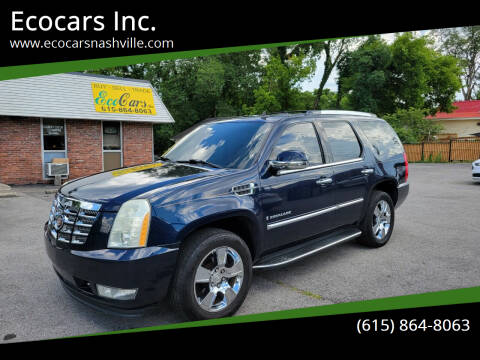 2007 Cadillac Escalade for sale at Ecocars Inc. in Nashville TN
