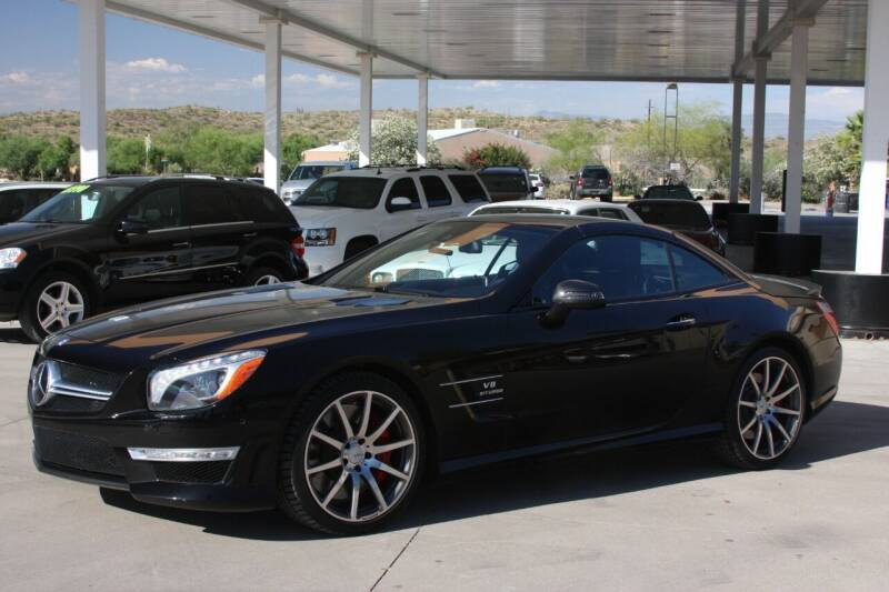 2013 Mercedes-Benz SL-Class for sale at Carzz Motor Sports in Fountain Hills AZ