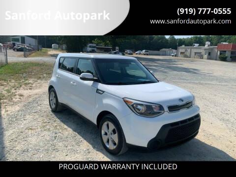 2014 Kia Soul for sale at Sanford Autopark in Sanford NC