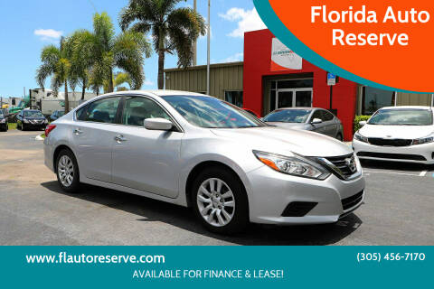 2017 Nissan Altima for sale at Florida Auto Reserve in Medley FL