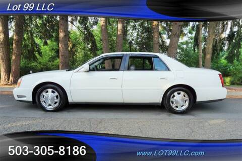 2004 Cadillac DeVille for sale at LOT 99 LLC in Milwaukie OR