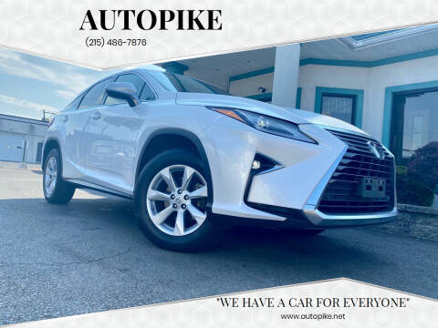 2017 Lexus RX 350 for sale at Autopike in Levittown PA