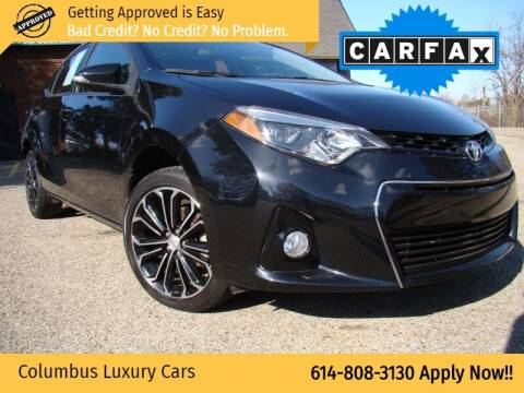 2016 Toyota Corolla for sale at Columbus Luxury Cars in Columbus OH