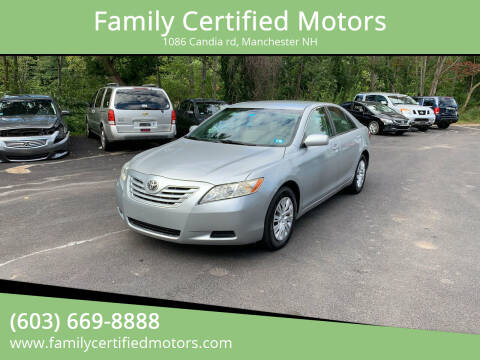 2007 Toyota Camry for sale at Family Certified Motors in Manchester NH