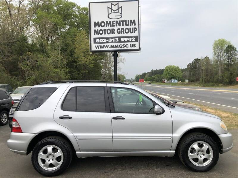 2005 Mercedes-Benz M-Class for sale at Momentum Motor Group in Lancaster SC