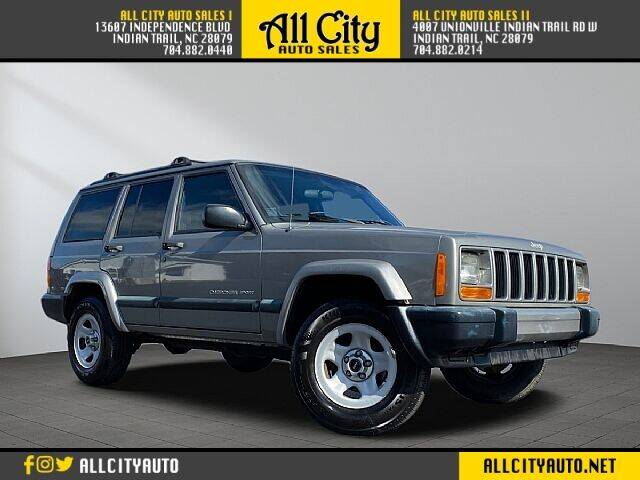 2001 Jeep Cherokee for sale at All City Auto Sales II in Indian Trail NC