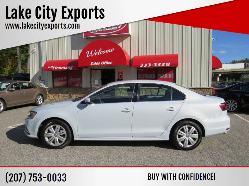 2017 Volkswagen Jetta for sale at Lake City Exports in Auburn ME